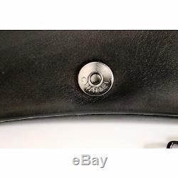 CHANEL sac à main vintage cuir noir très belle anse