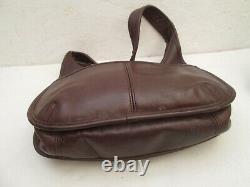 COACH sac à main en cuir vintage bag
