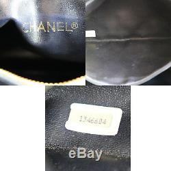 Chanel Matelassé Matelasse Chaîne Sac Bandoulière Cuir Vintage Auth #Z204 W
