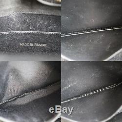 Chanel Matelassé Matelasse Sac à Bandoulière Daim Noir Vintage