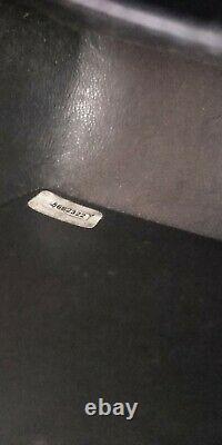 Chanel sac mini bandoulière vintage classic noir denim parfait état authentic