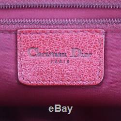 Christian Dior Trotter Sac à Bandoulière Marron PVC Cuir Toile Vintage