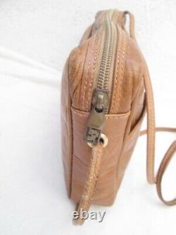 FENDI petit sac à main vintage authentique en cuir bag à saisir r2/7-20