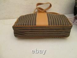 FENDI sac à main vintage authentique en cuir bag à saisir r23/7-20