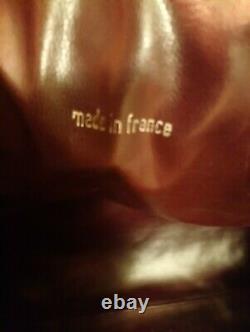 Grand Et Magnifique Sac De Voyage Chanel Authentique En Cuir Matelassé