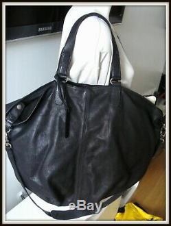 Grand Sac caba CUIR Athé Vanessa Bruno vintage bag borsa