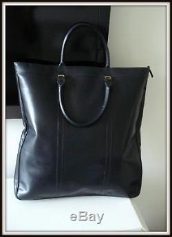 Grand Sac caba Lancel vintage 70 cuir/box bag borsa homme femme man women