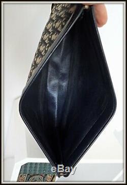 Grande pochette Christian Dior monogramme Dior vintage bag borsa sac Clutch