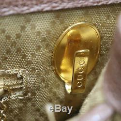 Gucci Bambou Sac Bandoulière Cuir Suédé Brun Italie Vintage Authentiques #U80 Z