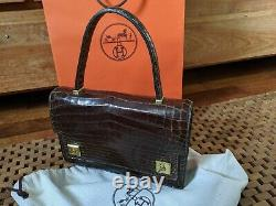 Hermes Paris, Crocodile, Piano, sac, bag