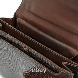 Hermès Sac Bag Danglas Brown Lizard Constance