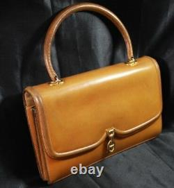 Hermes Vintage Chaine d'ancre Bag in Brown Natural Leather // Sac Hermes