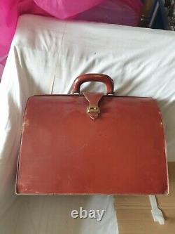 Hermès- bagage- porte documents- vintage sac