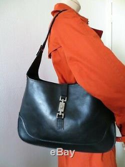 Jackie GUCCI authentique sac à main en CUIR. Vintage, Bags