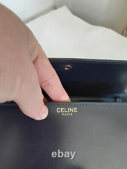 Joli Vintage Sac Celine Bandoulière en Cuir Celine Vintage Shoulder bag