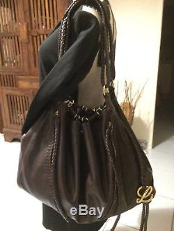 LOEWE sac baluchon itbag XXL grand luxe vintage luxe weekend bag 24 H