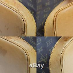 Louis Vuitton Alma Sac à Main Marron Monogramme Cuir M51130 Vintage Auth #Q360 W