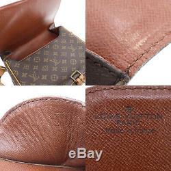Louis Vuitton Cartouchiere GM Épaule Sac Monogramme M51252 Vintage Authentique #