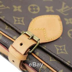 Louis Vuitton Cartouchiere Sac Bandoulière Monogramme M51252 Vintage Auth #Z619
