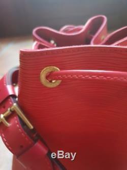 Louis Vuitton Grand Sac Seau Vintage Noe & Cuir Hand Bag