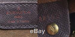Louis Vuitton Marais Sac à Main Marron Ebene Damier N42240 Vintage Auth #DD555