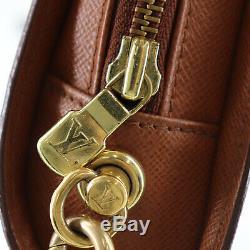 Louis Vuitton Orsay Sac Pochette Monogramme Cuir Marron Vintage M51790