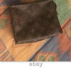 +++ Louis Vuitton Pochette Monogramme Vintage Cuir Serial Sac Bag Original