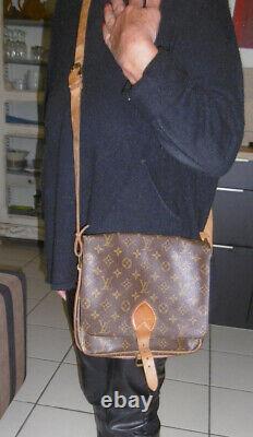 Louis Vuitton Sac À Main Femme Modele Cartouchiere Cuir Monogramme