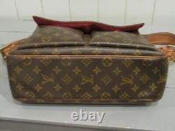 Louis Vuitton Sac Cuir Marron Vintage