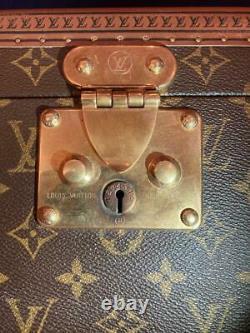Louis Vuitton boite flacons vanity cosmetic hand box sac Monogram toile