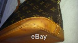 Louis Vuitton sac Alma Paris made in France authentique époque vintage