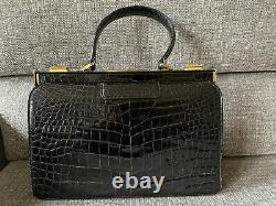 Magnifique Sac Vintage Année 60 en Croco / Vintage Bag Croco year 60