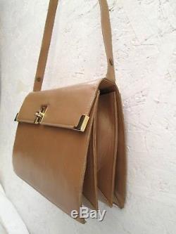 Magnifique, authentique sac à main BALLY vintage cuir bag