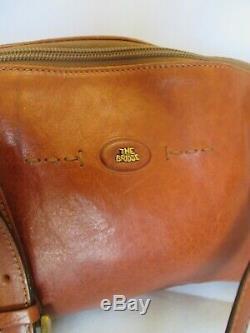 Magnifique sac à main THE BRIDGE en cuir vintage bag