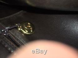 Magnifique sac en cuir chanel brun, vintage, tbe, À saisir