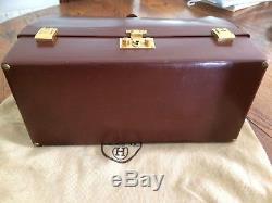 RARE Sac/Mallette ancienne en box / vintage HERMÈS avec Accessoires. COLLECTOR