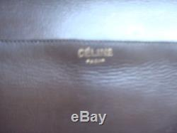 Rare Sac Celine Vintage Cuir