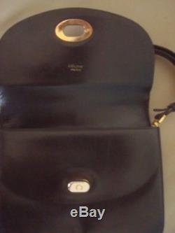 Rare Sac Céline Vintage Cuir Box