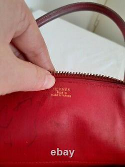 Rare Vintage Sac Hermès bolide petit modèle en Cuir Vintage Bolide Shoulder Bag