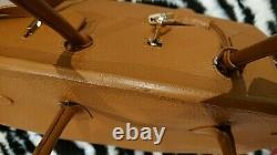 SAC HERMES BIRKIN 40 en cuir taurillon clémence marron