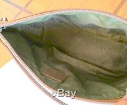 Sac Bag Pochette Gucci Made In Italy Canvas Vintage