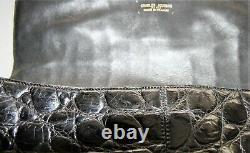 Sac CHARLES JOURDAN Crocodile véritable (Vintage as hermes chanel gonzalez)