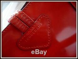 Sac Caba Longchamp Roseau Heritage cuir vintage bag borsa