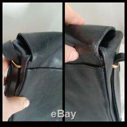 Sac Cartier Sapphire Vintage en Cuir Cartier Sapphire Vintage Shoulder Bag