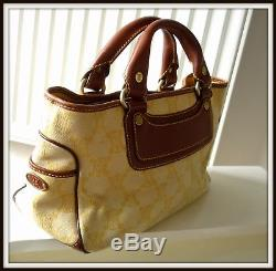 Sac Celine Boogie Cuir et tissu vintage bag