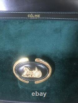 Sac Celine Vintage Vert sapin
