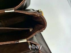 Sac Céline vintage calèche cuir box marron bag MUST HAVE