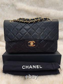 Sac Chanel Timeless Classique Bandouliere Vintage Medium 25 Cm Collection