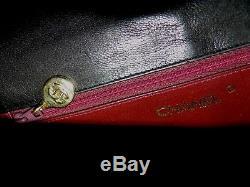 Sac Chanel Vintage ttbé cuir noir bag tasche borsa FAITES MOI 1 PROPOSITION