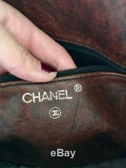 Sac Chanel matelassé vintage et numéroté